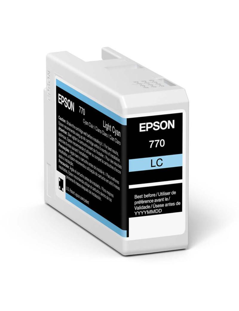 Cartuccia Originale Epson T46S500 (Ciano Chiaro 25 ml)