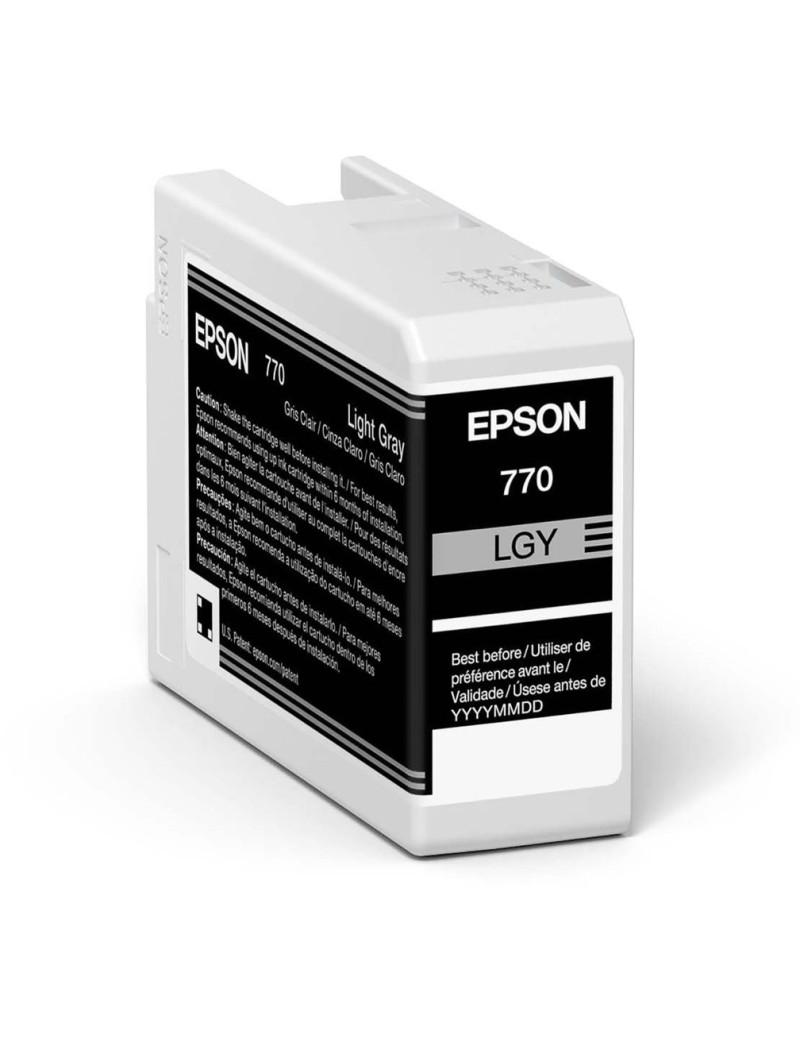 Cartuccia Originale Epson T46S900 (Grigio Chiaro 25 ml)