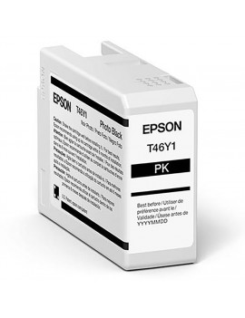 Cartuccia Originale Epson T47A100 (Nero Foto 50 ml)