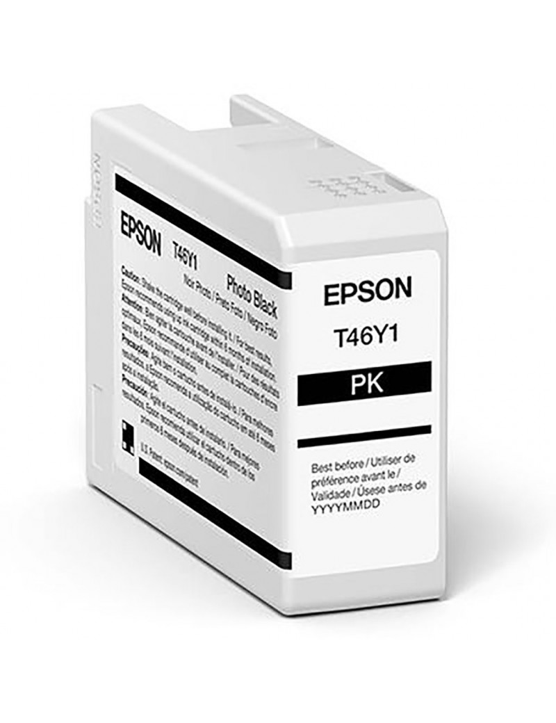 Cartuccia Originale Epson T47A100 (Nero Foto 50 ml)