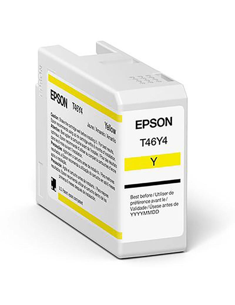Cartuccia Originale Epson T47A400 (Giallo 50 ml)