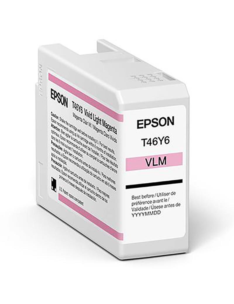 Cartuccia Originale Epson T47A600 (Magenta Chiaro 50 ml)