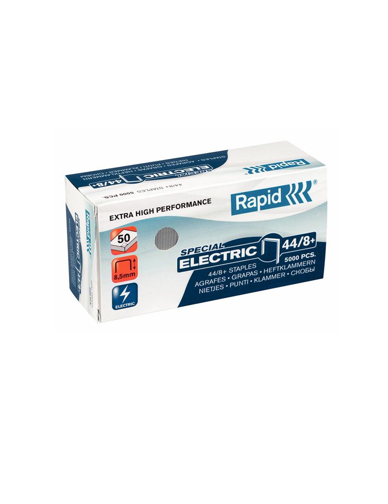Punti Metallici per Cucitrice Special Electric Rapid - 44/8 - 24868900 (Conf. 5000)