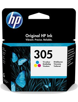 Cartuccia Originale HP 3YM60AE 305 (Colori 100 pagine)