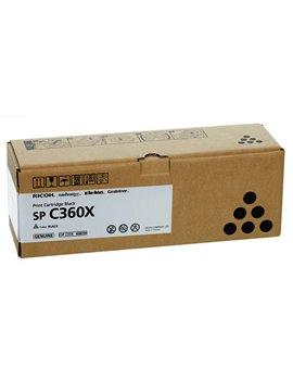 Toner Originale Ricoh 408250 SP C360X (Nero 10000 pagine)