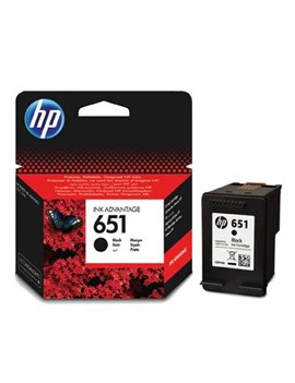 Cartuccia Originale HP C2P10AE 651 (Nero 600 pagine)