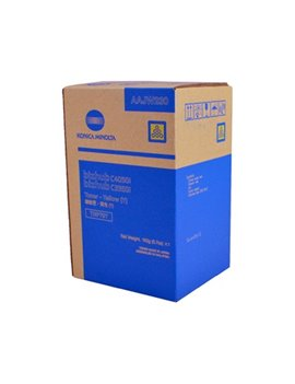 Toner Originale Konica Minolta TNP79Y AAJW250 (Giallo 9000 pagine)