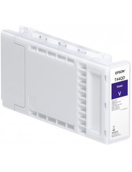 Cartuccia Originale Epson T44QD40 T44QD (Violetto 350 ml)