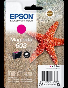 Cartuccia Originale Epson T03U340 603 (Magenta 130 pagine)