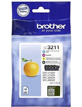 Multipack Cartucce Originali Brother LC-3211VALDR (Nero e Colori Conf. 4)