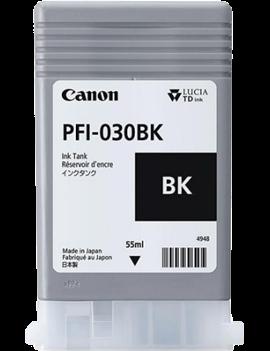 Cartuccia Originale Canon PFI-030BK 3489C001 (Nero Opaco 55 ml)