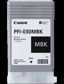 Cartuccia Originale Canon PFI-030MBK 3488C001 (Nero Opaco 55 ml)