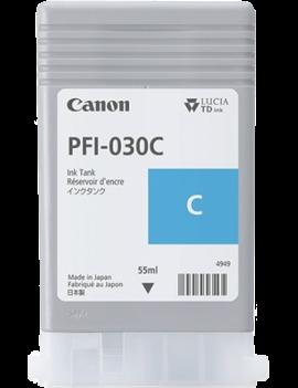 Cartuccia Originale Canon PFI-030C 3490C001 (Ciano 55 ml)