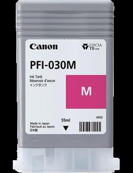 Cartuccia Originale Canon PFI-030M 3491C001 (Magenta 55 ml)