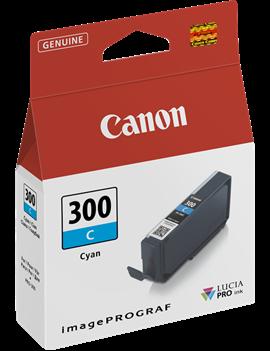 Cartuccia Originale Canon PFI-300c 4194C001 (Ciano 14 ml)