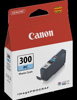 Cartuccia Originale Canon PFI-300pc 4197C001 (Ciano Foto 14 ml)