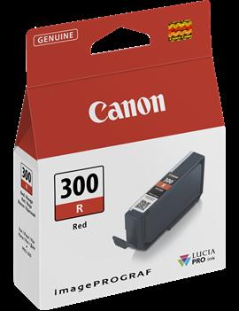 Cartuccia Originale Canon PFI-300r 4199C001 (Rosso 14 ml)