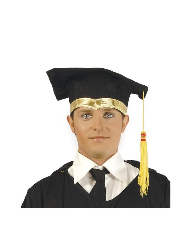 Cappello Laurea (Nero)