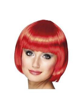 Parrucca a Caschetto (Rosso)