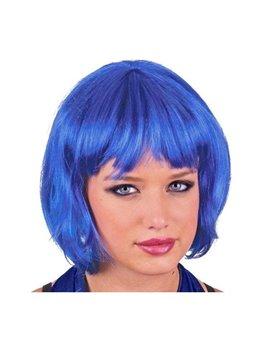 Parrucca a Caschetto (Blu)