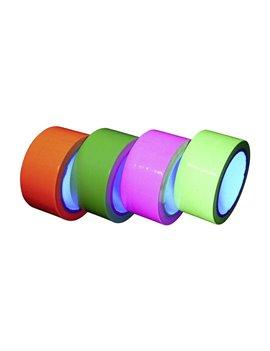 Nastro Adesivo Fluo Reagente agli UV (Assortiti)