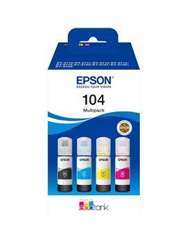 Multipack Inchiostro Originale Epson T00P640 104 (Nero e Colori Conf. 4)