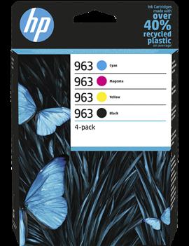Multipack Cartucce Originali HP 6ZC70AE 963 (Nero e Colori Conf. 4)