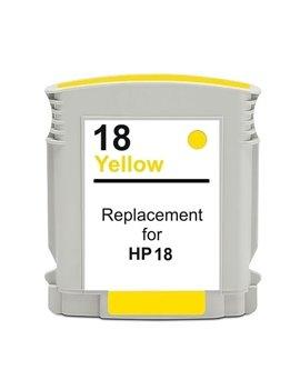 Cartuccia Compatibile HP C4939A 18 (Giallo 860 pagine)