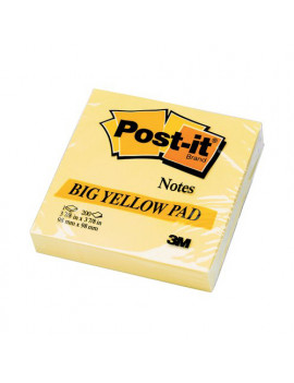 Post-it Note Large Pad 5635 3M - 100x100 mm - 50121 (Giallo Canary Conf. 200)