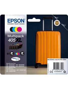 Multipack Cartucce Originali Epson T05H640 405XL (Nero e Colori XL Conf. 4)