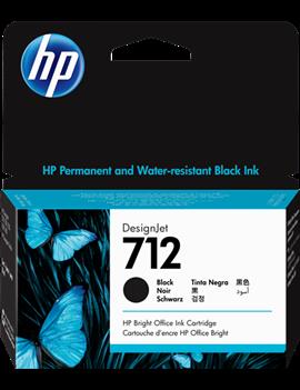 Cartuccia Originale HP 3ED70A 712 (Nero 38 ml)