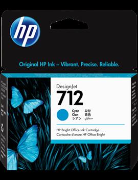 Cartuccia Originale HP 3ED67A 712 (Ciano 29 ml)