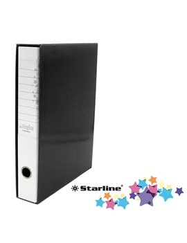 Registratore Kingbox Starline - Protocollo - Dorso 5 - 28,5x35,5 cm - RXP5BI (Bianco)