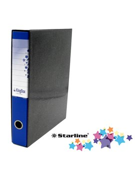 Registratore Kingbox Starline - Protocollo - Dorso 5 - 28,5x35,5 cm - RXP5BL (Blu)