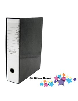 Registratore Kingbox Starline - Protocollo - Dorso 8 - 28,5x35,5 cm - RXP8BI (Bianco)