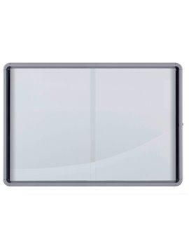 Bacheca Magnetica per Interni Nobo - 12xA4 - 100x97,2 cm - 1902570 (Alluminio)