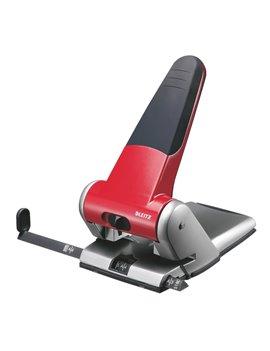 Perforatore a 2 Fori 5180 Leitz - 65 Fogli - 51800125 (Rosso)