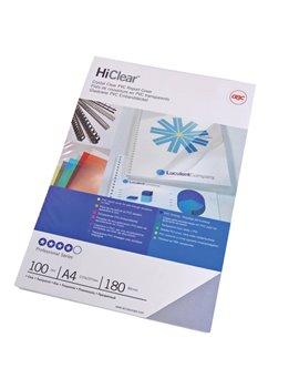 Copertine in PVC per Rilegatura Hi-Clear GBC - A4 - 240 Micron - CE012480 (Trasparente Conf. 100)