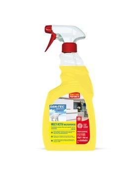Sgrassatore Disinfettante Multi Activ Limone Sanitec - 1838-S - 750 ml