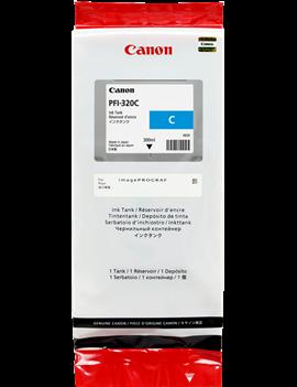 Cartuccia Originale Canon PFI-320c 2891C001 (Ciano 300 ml)