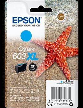 Cartuccia Originale Epson T03A240 603XL (Ciano 350 pagine)