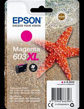 Cartuccia Originale Epson T03A340 603XL (Magenta 350 pagine)