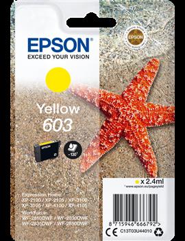 Cartuccia Originale Epson T03U440 603 (Giallo 130 pagine)
