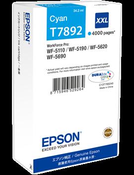 Cartuccia Originale Epson T789240 78XXL (Ciano XXL 4000 pagine)