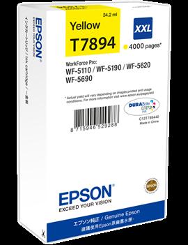Cartuccia Originale Epson T789440 78XXL (Giallo XXL 4000 pagine)