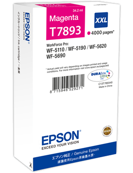 Cartuccia Originale Epson T789340 78XXL (Magenta XXL 4000 pagine)