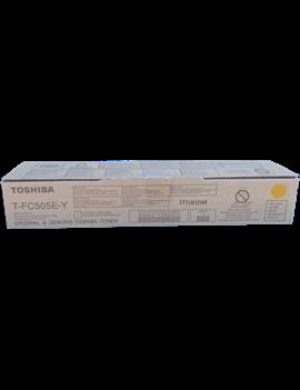 Toner Originale Toshiba T-FC505EY 6AJ00000147 (Giallo 33600 pagine)