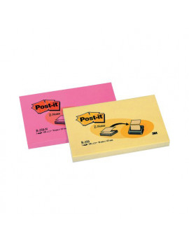 Ricariche Post-it Z-Note R350 3M - 76x127 mm - 33321 (Giallo Canary Conf. 12)