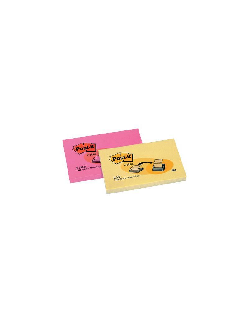 Ricariche Post-it Z-Note R350 3M - 76x127 mm - 33321 (Giallo Canary Conf. 12)