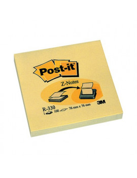 Ricariche Post-it Z-Note R330 3M - 76x76 mm - 33320 (Giallo Canary Conf. 12)